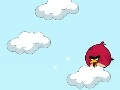 Game Angry Birds cloud jumping  online - mga laro sa online