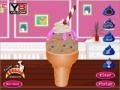 Game Chocolate Ice Cream Dekorasyon online - mga laro sa online