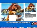 Game Ice Age Continental Drift Sliding Puzzle online - mga laro sa online