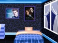 Game Robert Pattinson Fan Room online - mga laro sa online