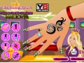 Game Princess Barbie manicure Makeover online - mga laro sa online
